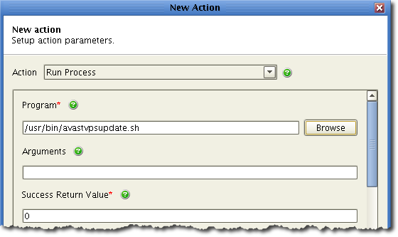 action parameters1