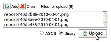 File Upload Interface