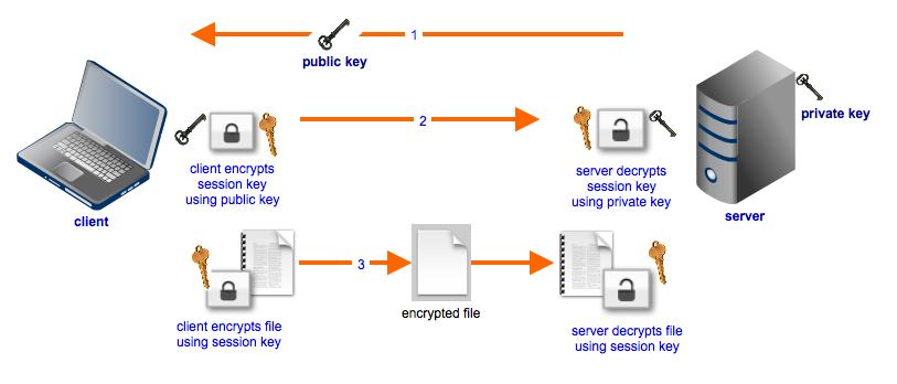 hybrid_cryptosystem_used_in_file_transfer