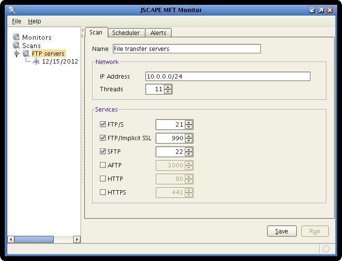 jscape mft monitor scan settings