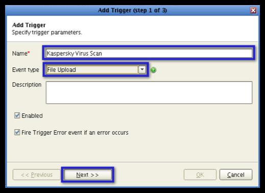 jscape mft server add trigger step 1 resized 600