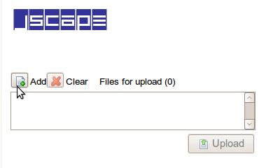 JSCAPE MFT Server Anonymous File Upload Form