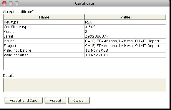 ssl ftp digital certificate