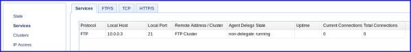 newly added ftp reverse proxy service