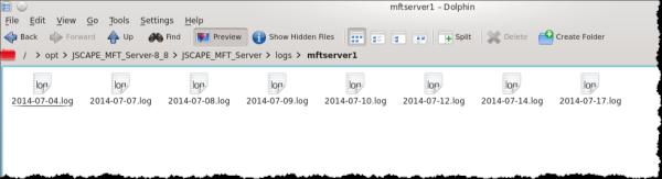 log files resized 600
