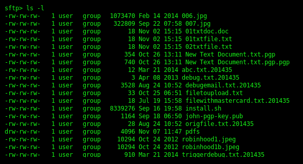 Using SFTP On The Command Line | SFTP File Transfer