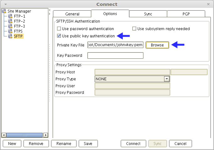 loading-private-key-sftp