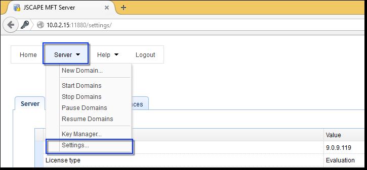 email-large-files-mft-server-settings