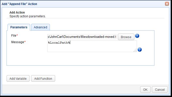 02-append-file-trigger-action-parameters