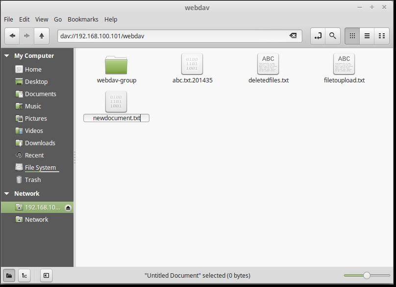 creating-new-file-in-webdav-linux