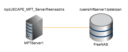 paths in mft server freenas