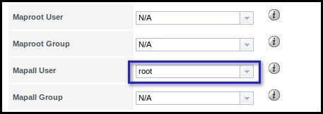 freenas mapall user root