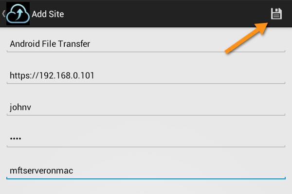 jscape mft server android site info