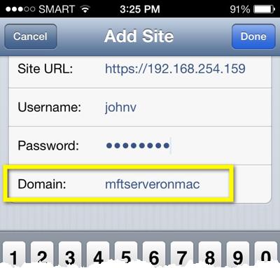 mft server domain