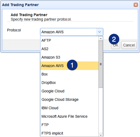 009 - add amazon aws trading partner