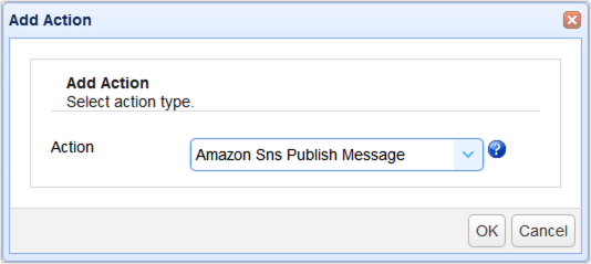 015 - amazon sns publish message trigger action