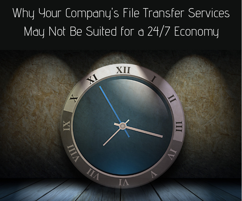 Why Your Company's file transfer services 24x7 economy