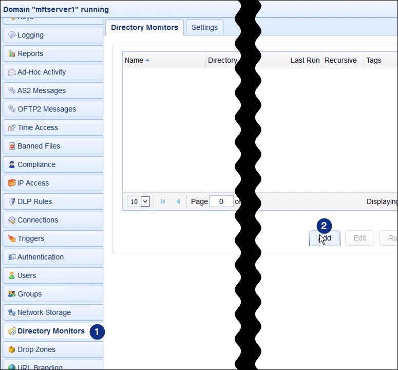 add directory monitor