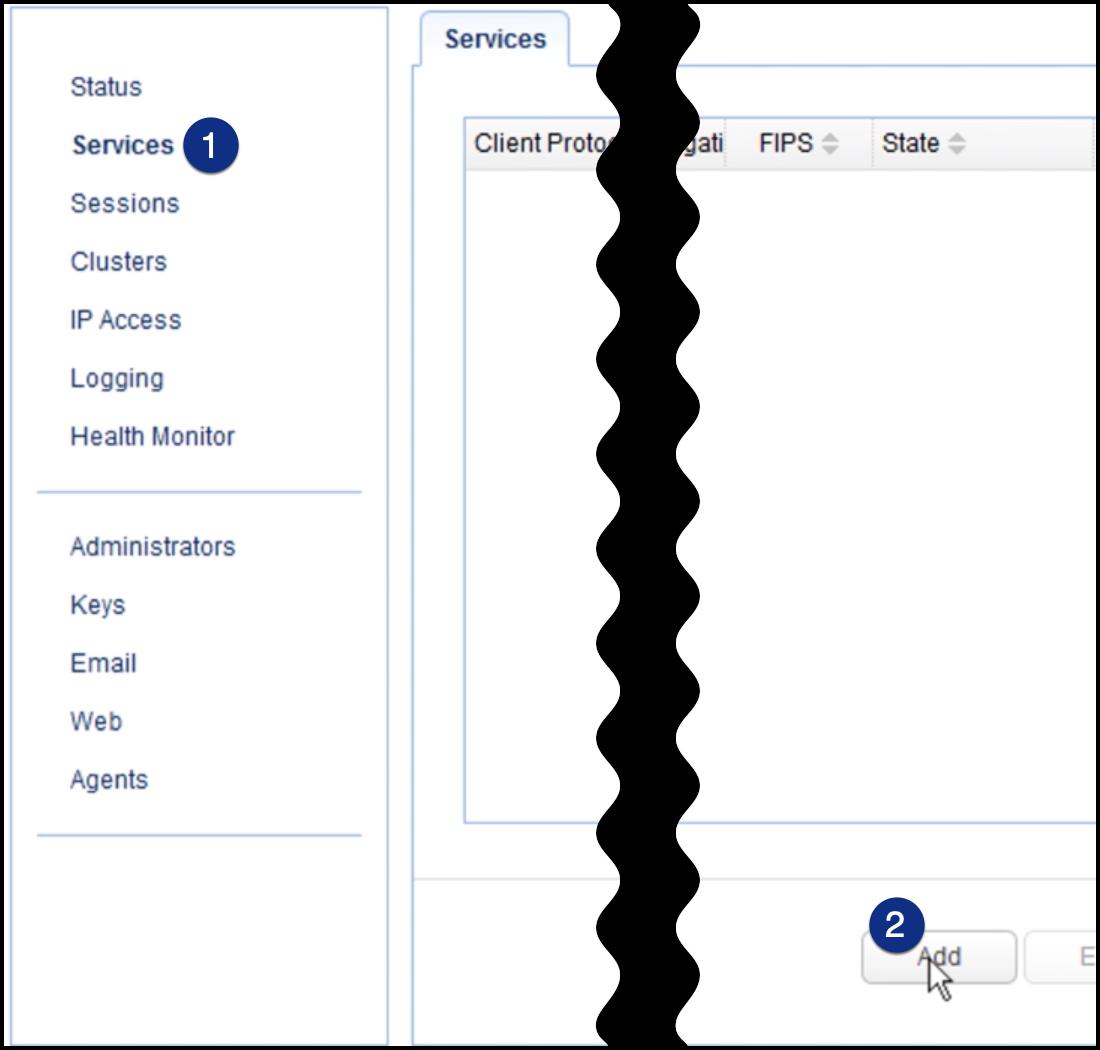 add new reverse proxy service