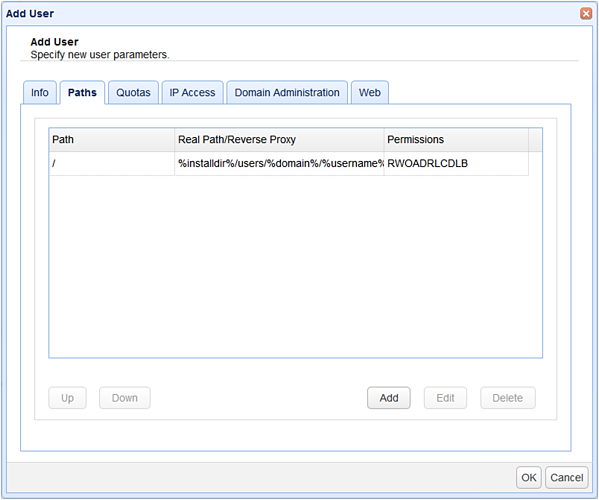 add user with azure file share reverse proxy