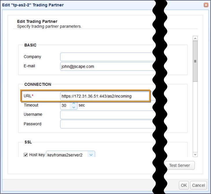 as2 trading partner URL
