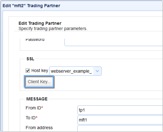 as2 trading partner client key button