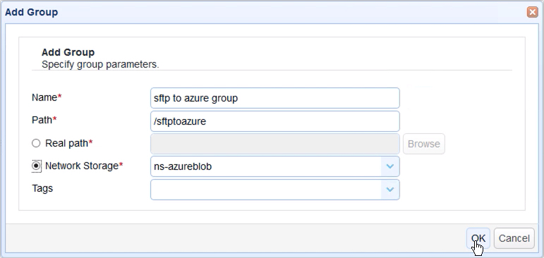 automatically transfer files from sftp to azure blob storage - 13-1