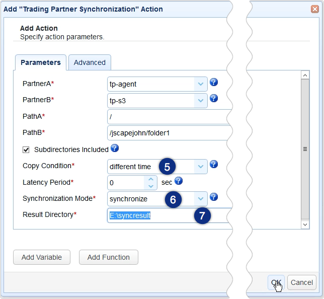 aws s3 sync windows - trading partner synchronization action parameters 2