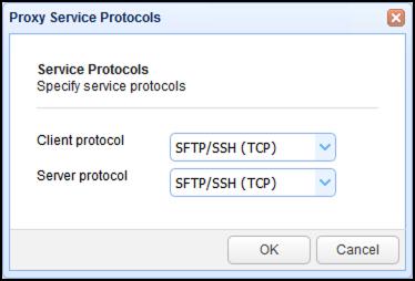 client protocol sftp ssh tcp