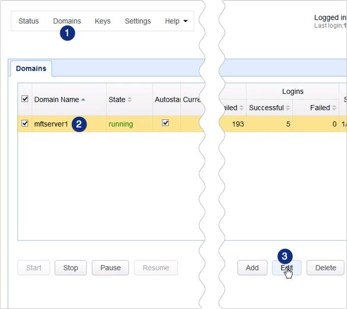 customizing web user interface of https file transfer service - 14