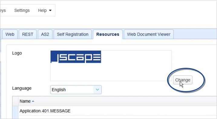 customizing web user interface of https file transfer service - 8
