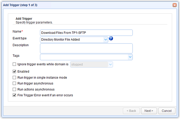 directory monitor file added event type