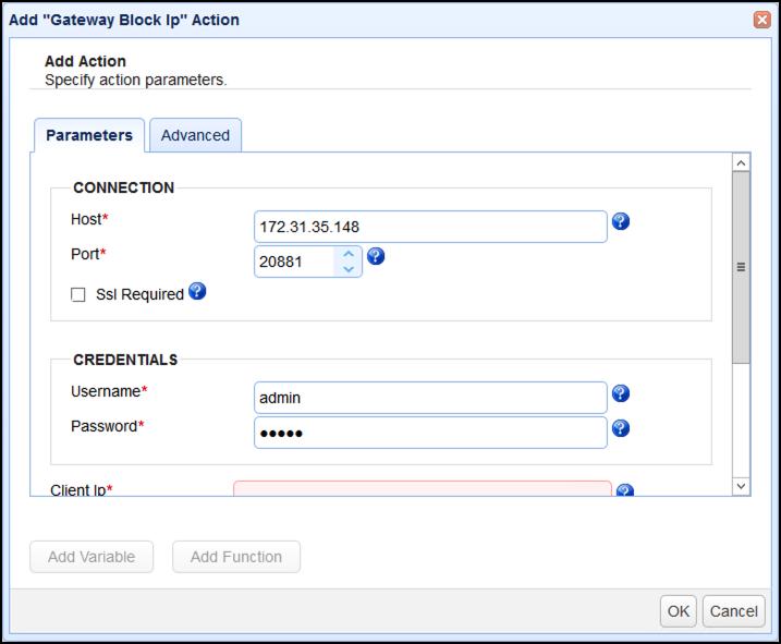 gateway block ip action parameters 1