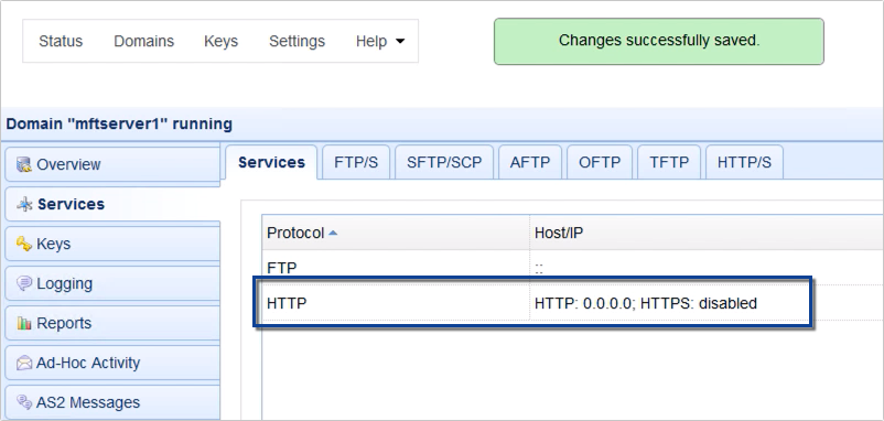 how to set up http file transfer - 06-1