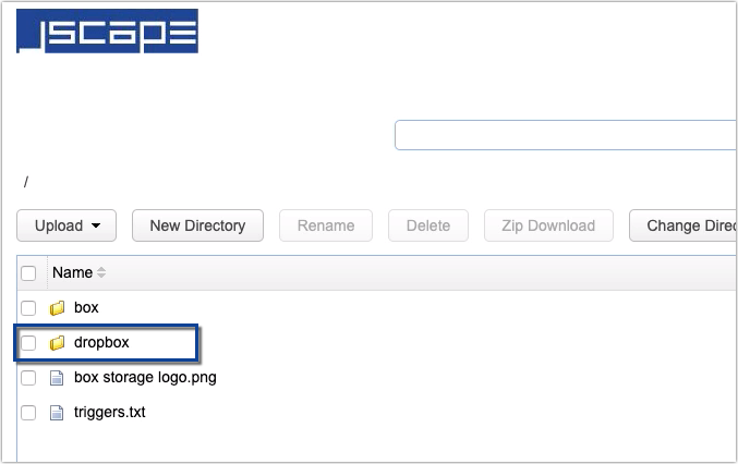 how to use dropbox as cloud storage for your mft server - 13