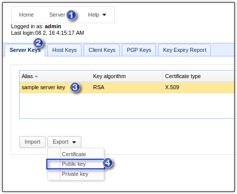 The SSH / SFTP Key Fingerprint And Its Role In Server