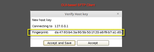 The SSH / SFTP Key Fingerprint And Its Role In Server Authentication