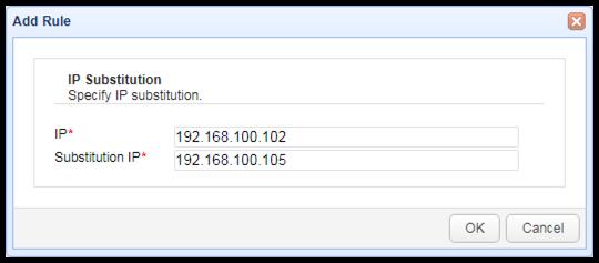 ip substitution mft server