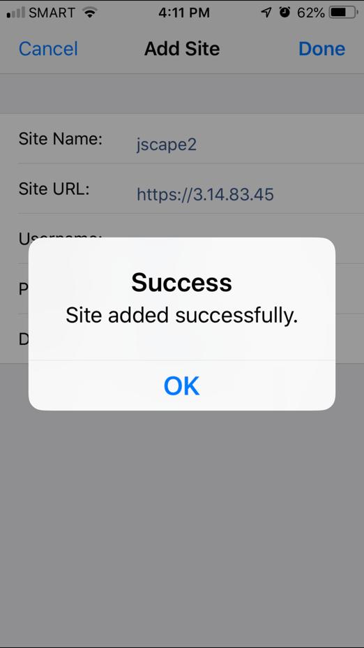 jscape iphone app 4