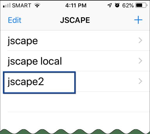 jscape iphone app 5