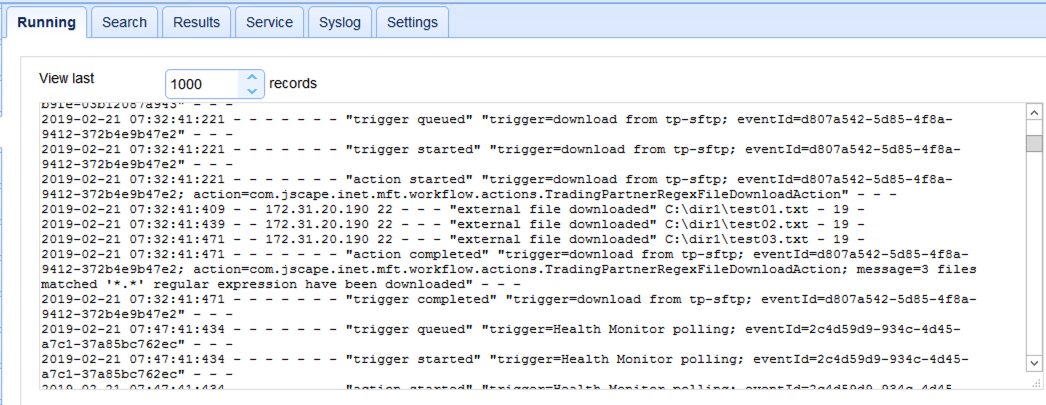 log on mft server 2
