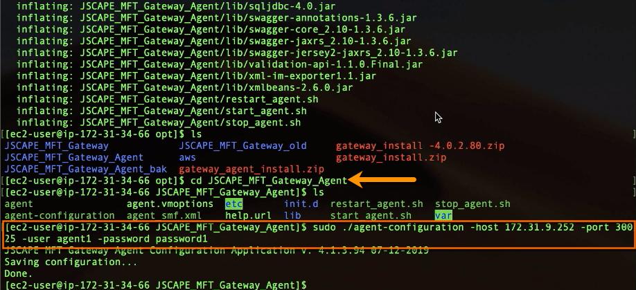mft gateway agent agent-configuration command-1