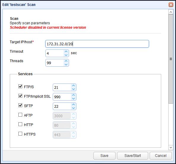 mft monitor file transfer protocols to scan