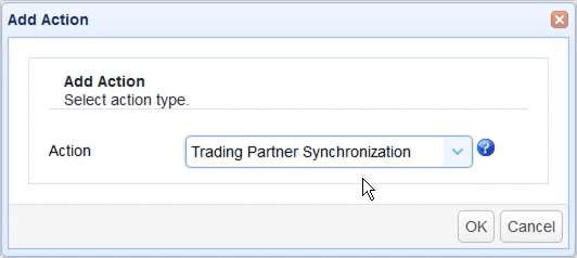 mirror ftp to s3 - add trigger action trading partner synchronization