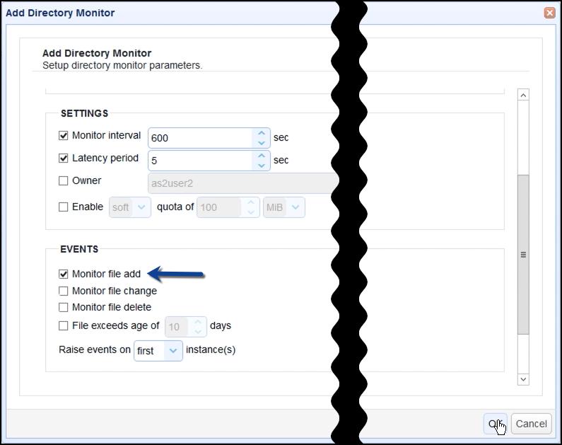 monitor file add s3