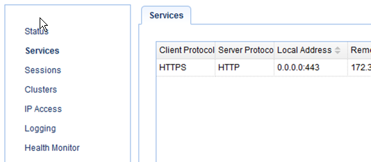 newly created https to http reverse proxy