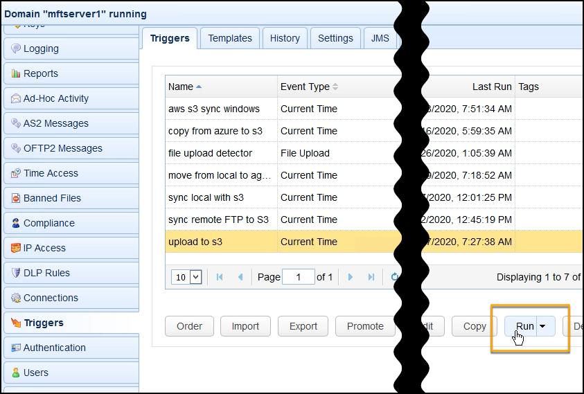s3 aes 256 - trading partner file upload run trigger