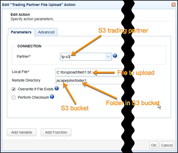 s3 aes 256 - trading partner file upload trigger parameters-1