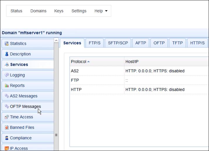 same file transfer services new mft server