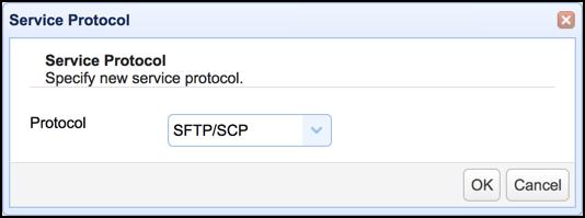 service protocol sftp scp